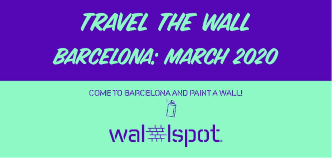 Wallspot Post - Travel The Wall Barcelona 2020
