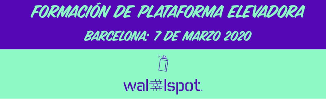 Wallspot Post - LIFTING PLATFORM TRAINING
