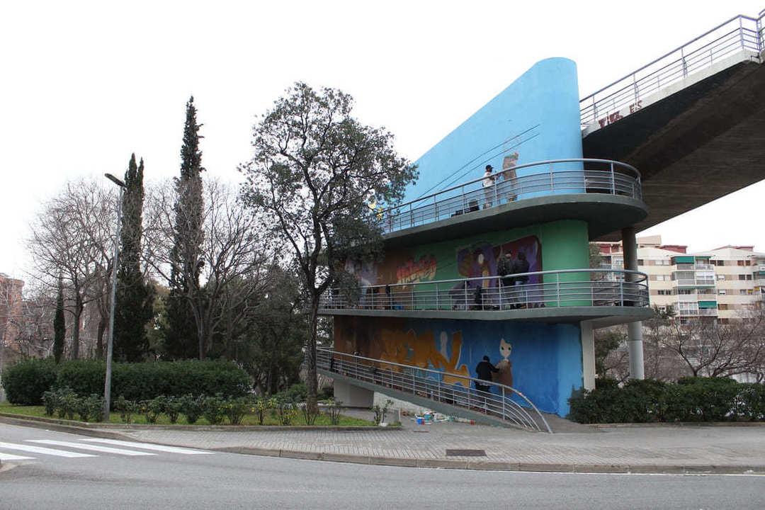 Wallspot Post - BRIDGE DE LA RONDA - HORTA GUINARDÓ (BARCELONA)