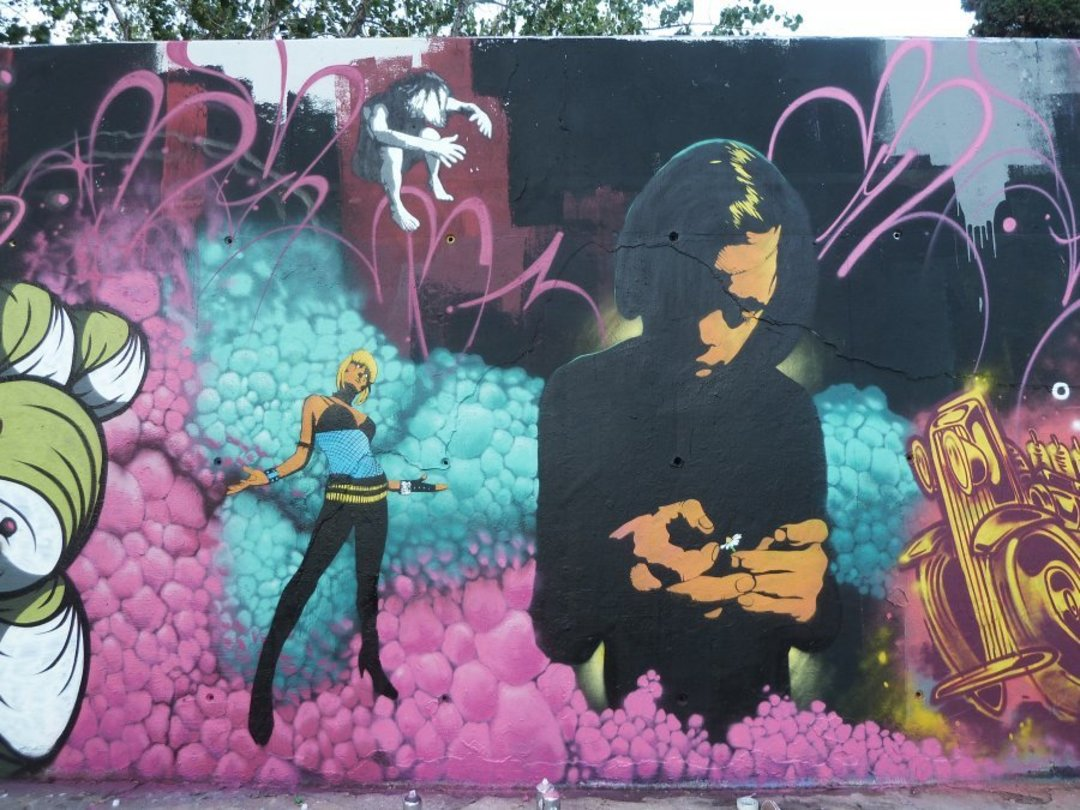 Wallspot - SM 172 -  - Barcelona - Tres Xemeneies - Graffity - Legal Walls -
