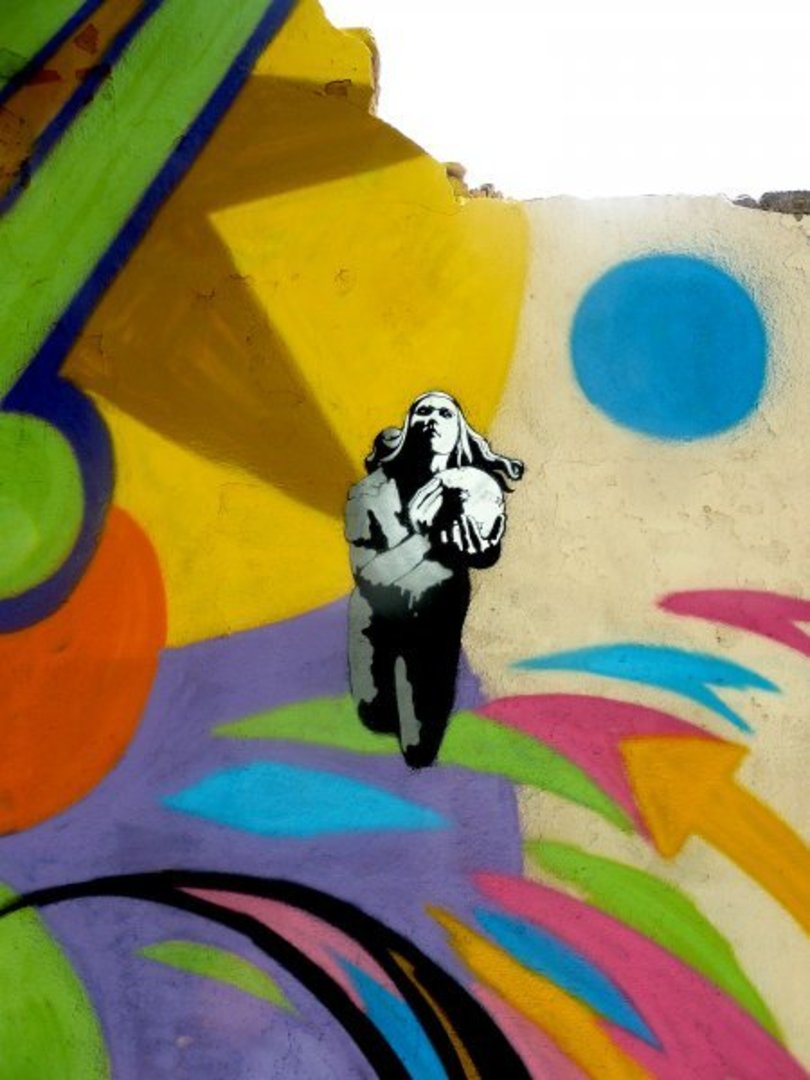 Wallspot - SM 172 -  - Barcelona - Agricultura - Graffity - Legal Walls - Illustration, Stencil