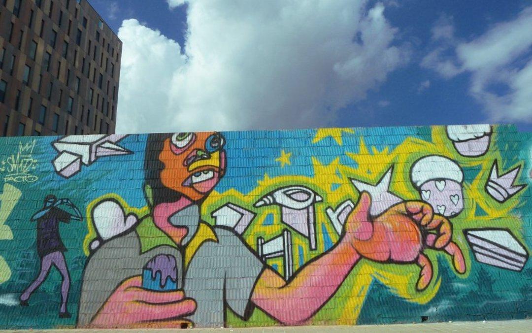 Wallspot - SM 172 -  - Barcelona - Glòries Wall - Graffity - Legal Walls -