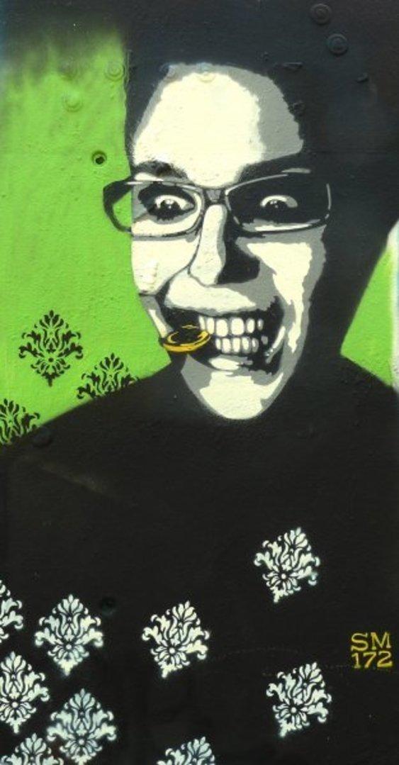Wallspot - SM 172 -  - Barcelona - Tres Xemeneies - Graffity - Legal Walls - Stencil