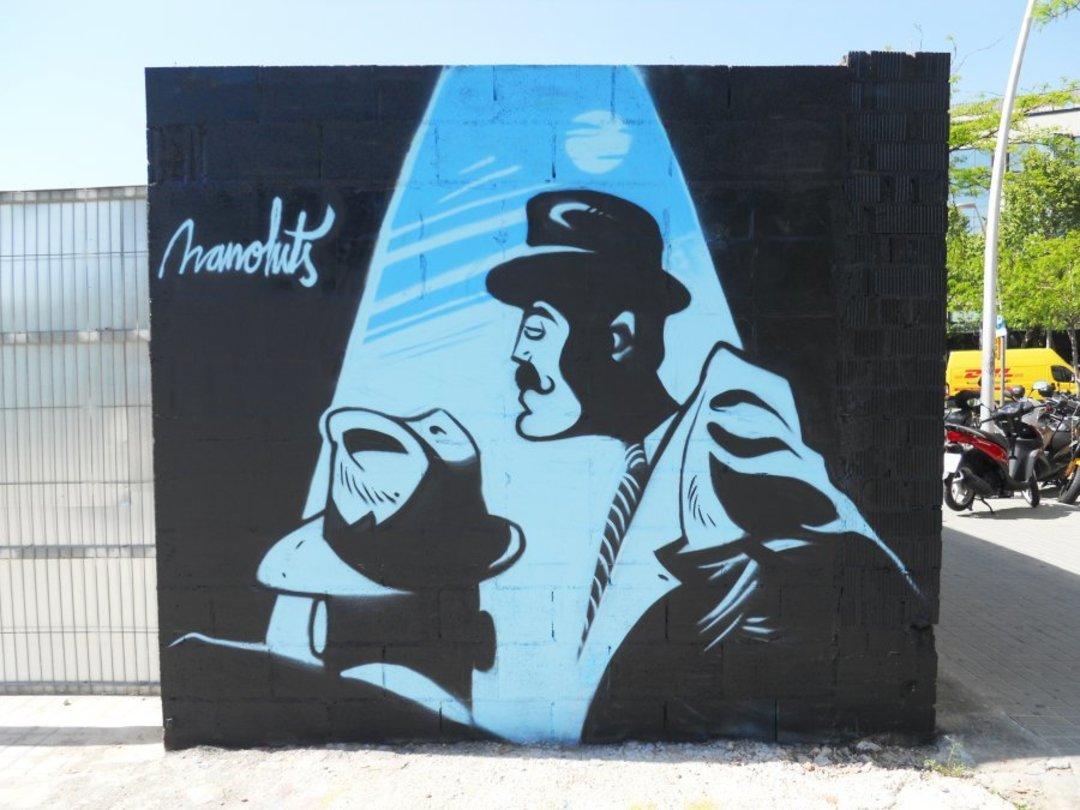 Wallspot - Manoluts -  - Barcelona - Glòries Wall - Graffity - Legal Walls -