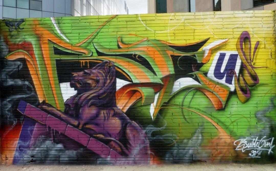 Wallspot - Bublegum -  - Barcelona - Glòries Wall - Graffity - Legal Walls -