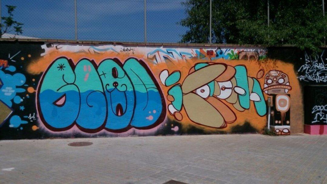 Wallspot - bloc -  - Barcelona - Agricultura - Graffity - Legal Walls -