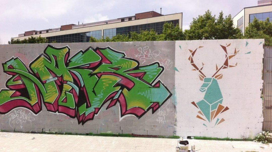 Wallspot - nuriatoll -  - Barcelona - Glòries Wall - Graffity - Legal Walls -