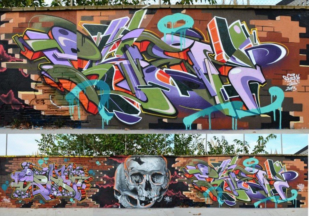 Wallspot - Stefano Phen -  - Barcelona - Agricultura - Graffity - Legal Walls -