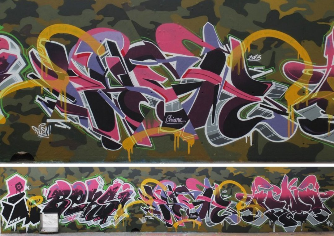 Wallspot - Stefano Phen -  - Barcelona - Tres Xemeneies - Graffity - Legal Walls -