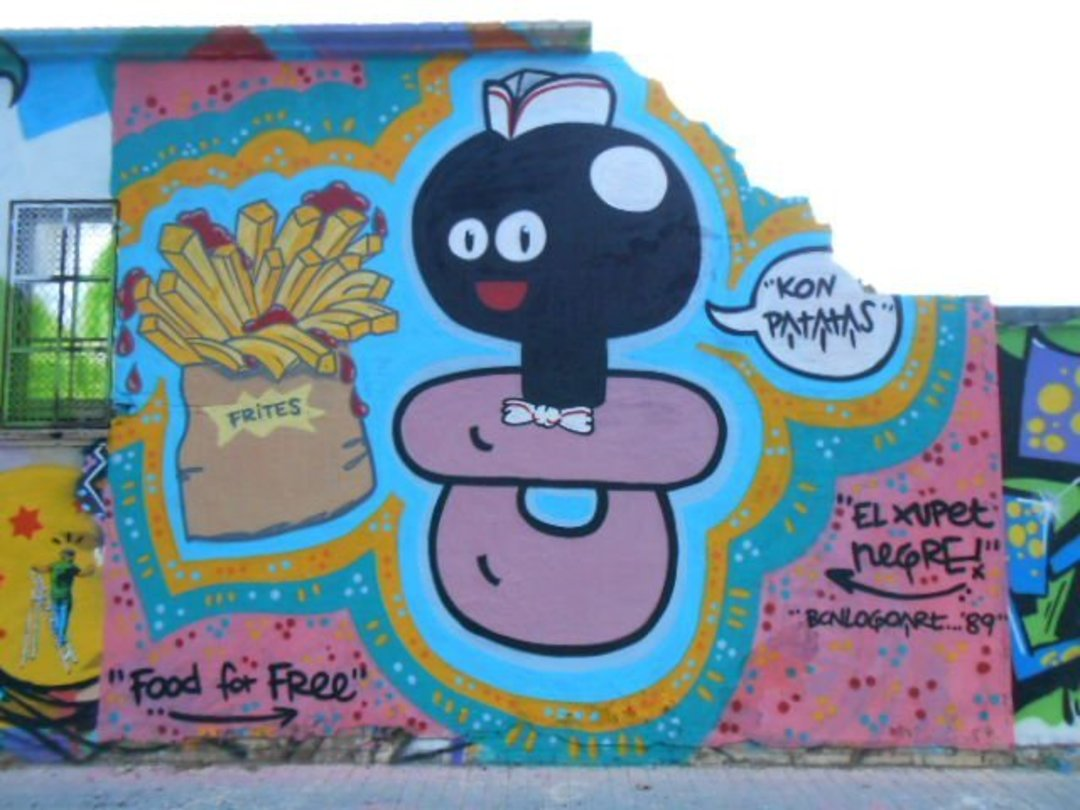 Wallspot - xupet -  - Barcelona - Agricultura - Graffity - Legal Walls - Illustration, Others
