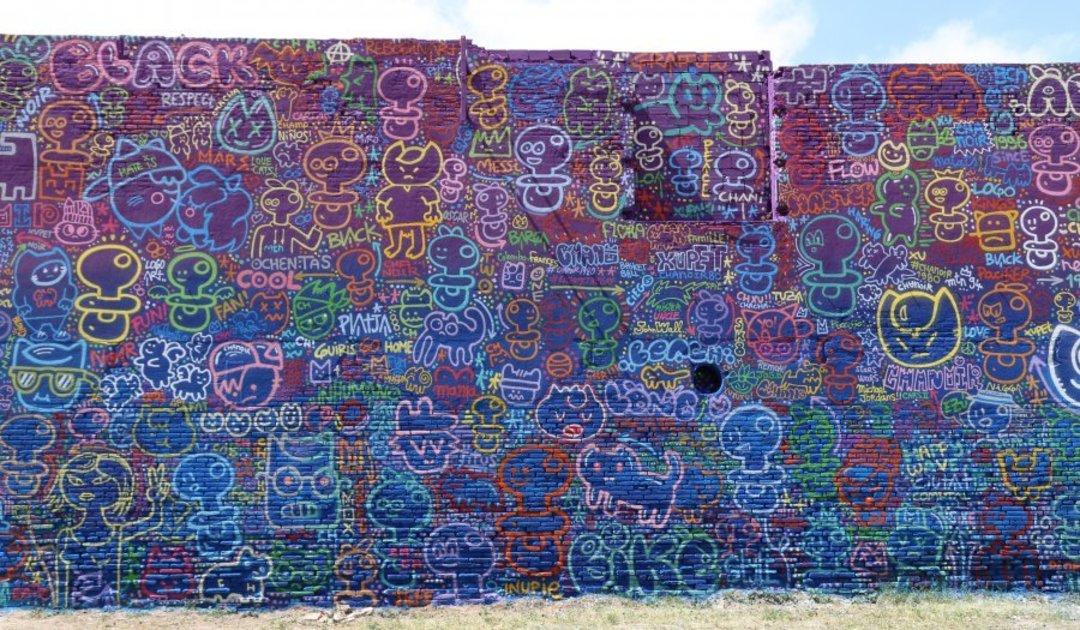 Wallspot - xupet -  - Barcelona - Glòries Wall - Graffity - Legal Walls -