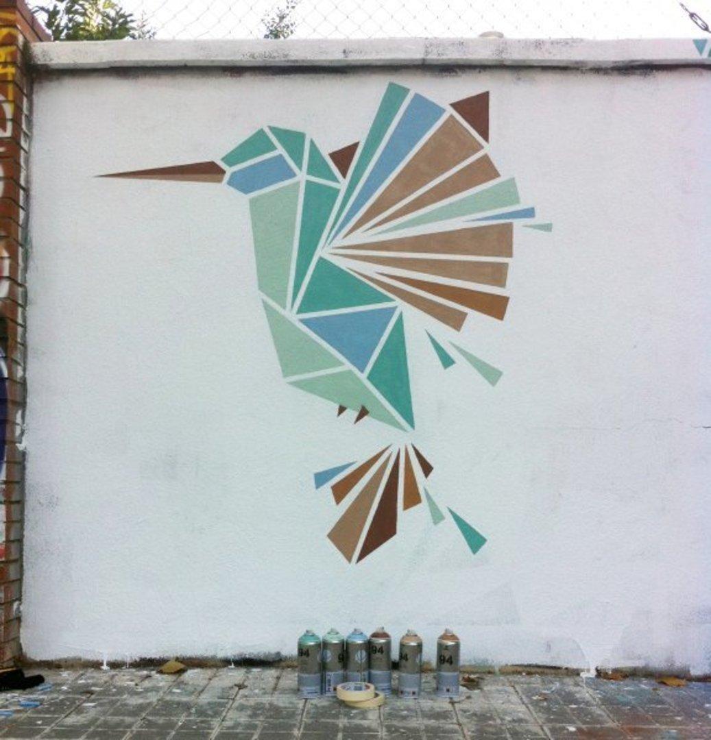 Wallspot - nuriatoll -  - Barcelona - Selva de Mar - Graffity - Legal Walls -