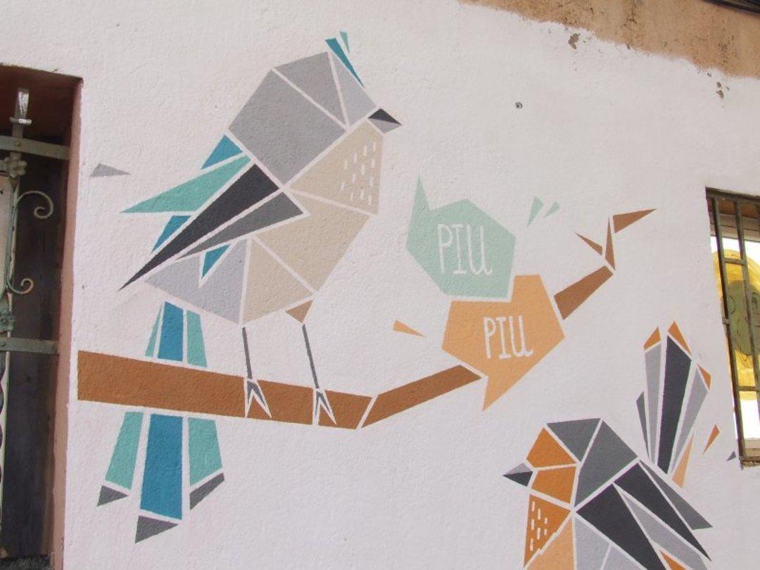 Wallspot - nuriatoll -  - Barcelona - Western Town - Graffity - Legal Walls - Illustration