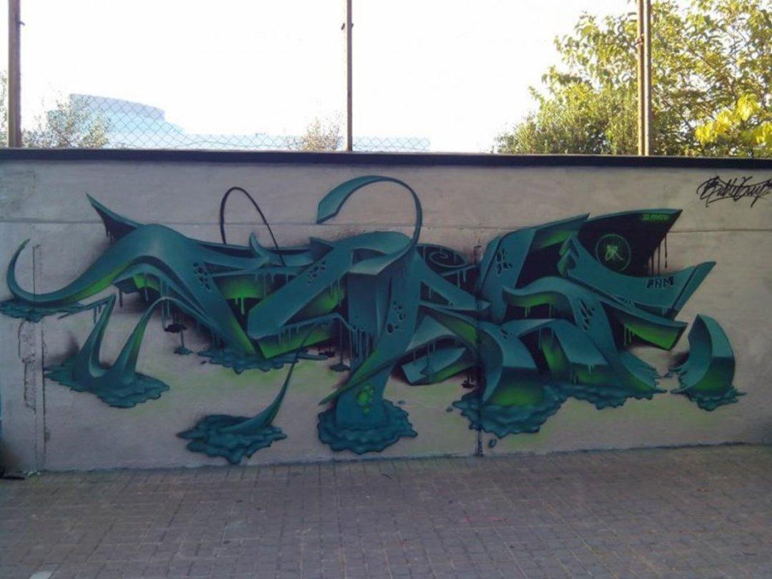 Wallspot - Bublegum -  - Barcelona - Agricultura - Graffity - Legal Walls - Lletres