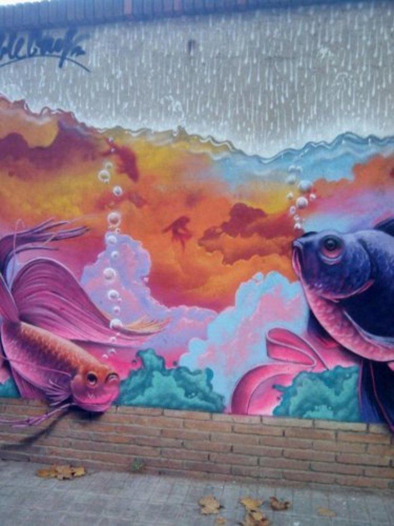 Wallspot - Bublegum -  - Barcelona - Selva de Mar - Graffity - Legal Walls -