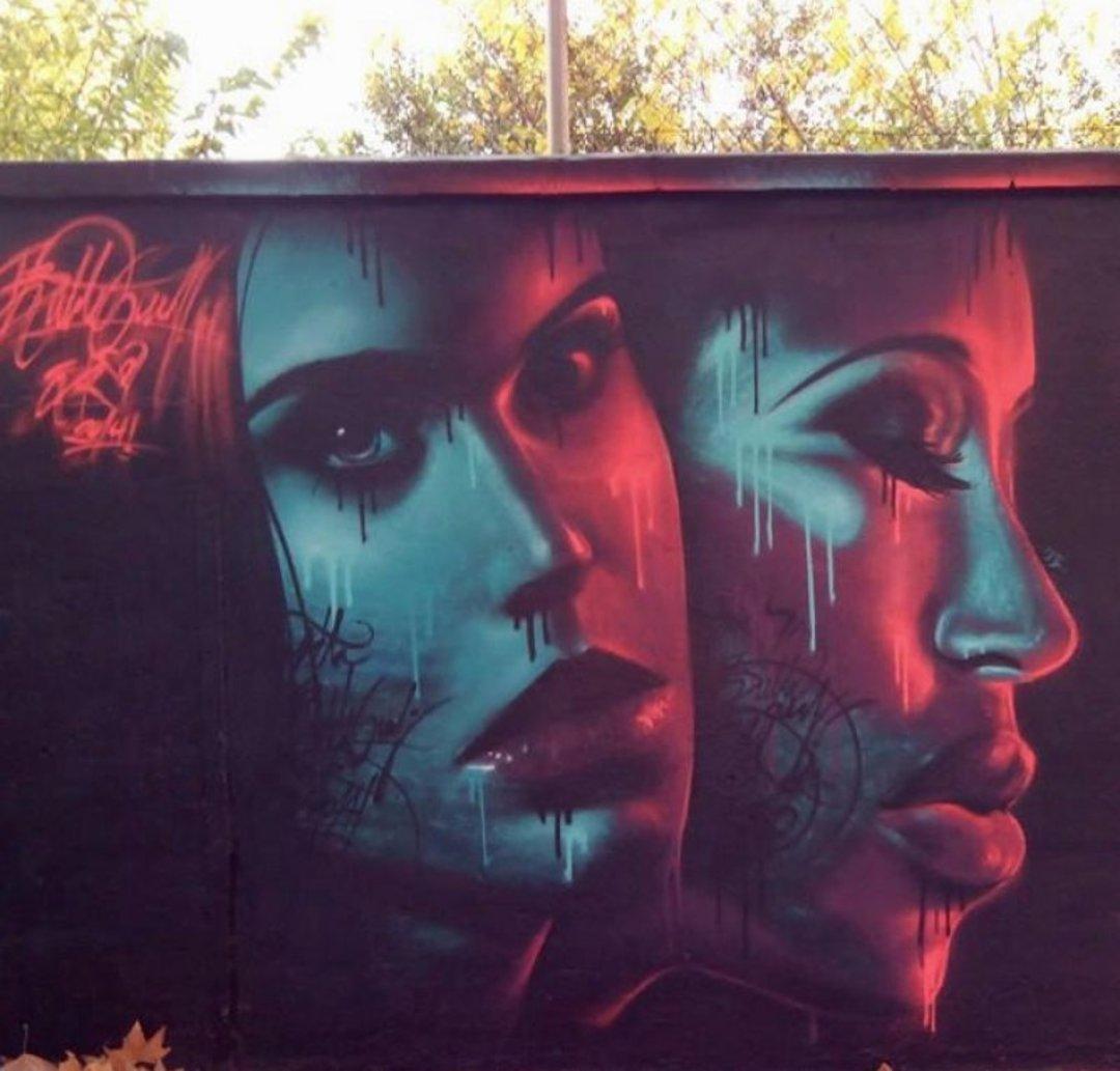 Wallspot - Bublegum -  - Barcelona - Agricultura - Graffity - Legal Walls - Il·lustració
