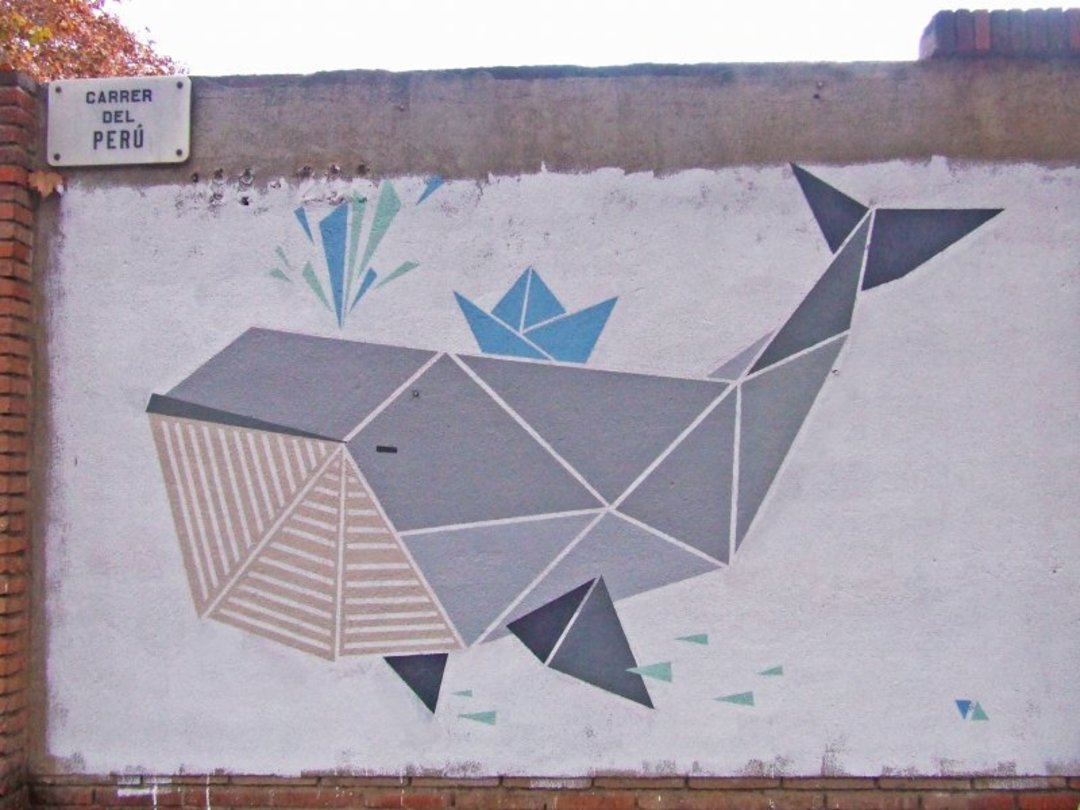 Wallspot - nuriatoll -  - Barcelona - Selva de Mar - Graffity - Legal Walls - Illustration