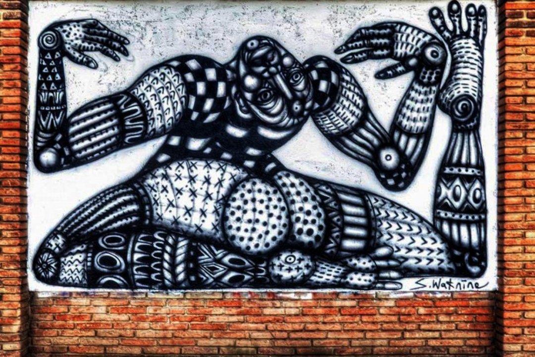 Wallspot - S.Waknine -  - Barcelona - Selva de Mar - Graffity - Legal Walls - Illustration, Others