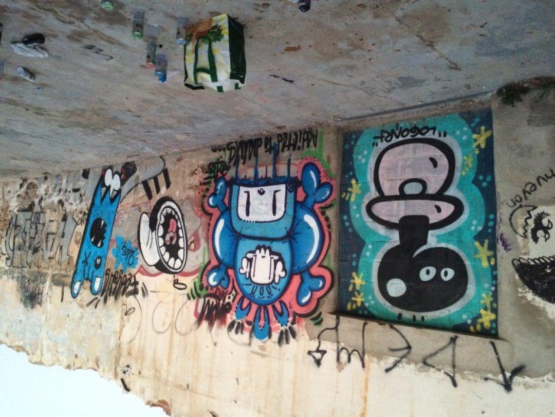 Wallspot - dhemart -  - Barcelona - Western Town - Graffity - Legal Walls - Il·lustració