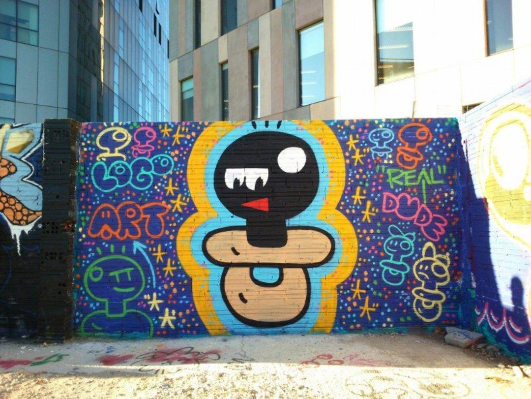 Wallspot - xupet -  - Barcelona - Glòries Wall - Graffity - Legal Walls - Lletres, Il·lustració, Altres
