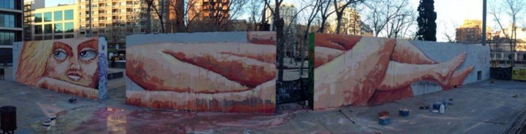 Wallspot - elmanu -  - Barcelona - Tres Xemeneies - Graffity - Legal Walls -