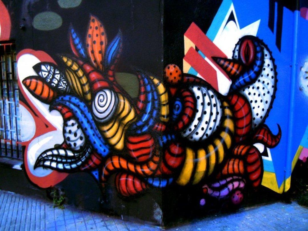 Wallspot - S.Waknine -  - Barcelona - Agricultura - Graffity - Legal Walls - Illustration