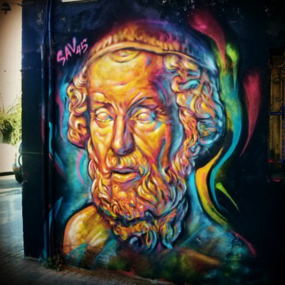 Wallspot - savf -  - Barcelona - Western Town - Graffity - Legal Walls - Illustration