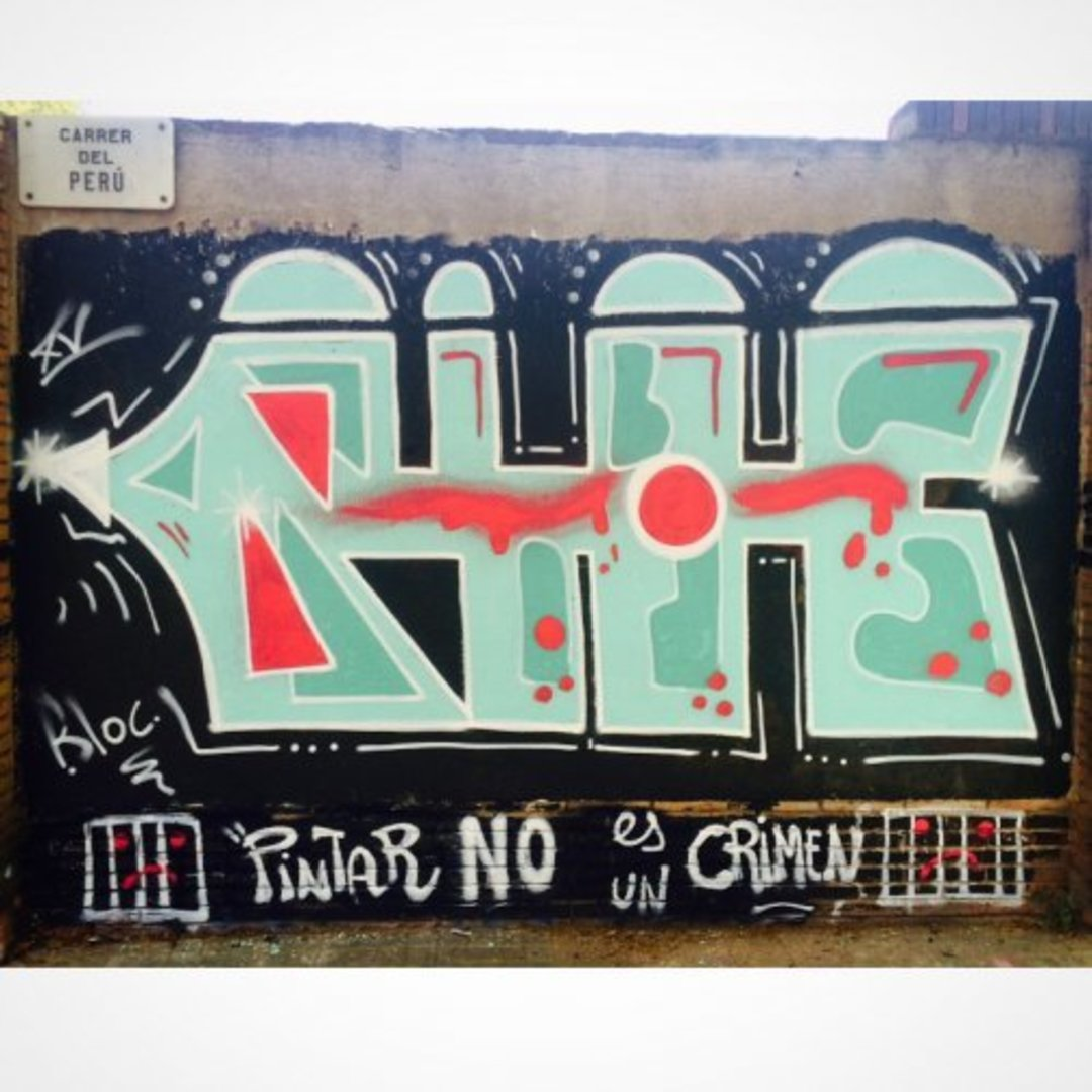 Wallspot - bloc -  - Barcelona - Selva de Mar - Graffity - Legal Walls - Letters