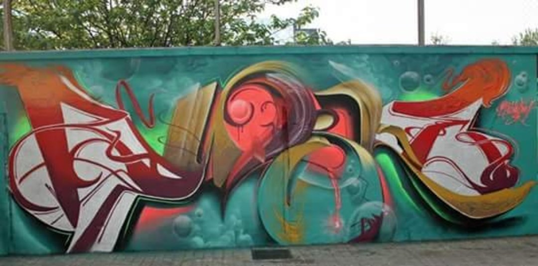 Wallspot - Bublegum -  - Barcelona - Agricultura - Graffity - Legal Walls - Lletres