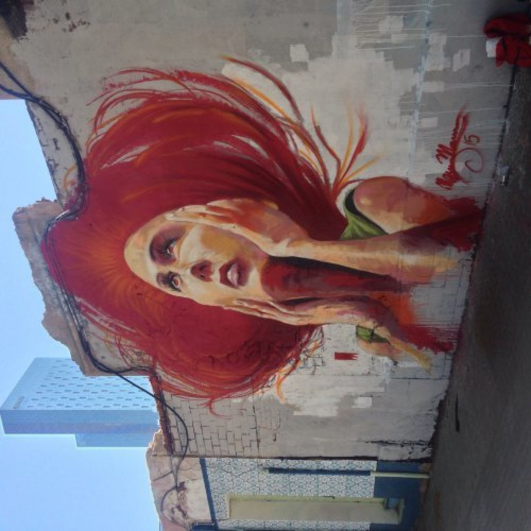 Wallspot - elmanu -  - Barcelona - Western Town - Graffity - Legal Walls -