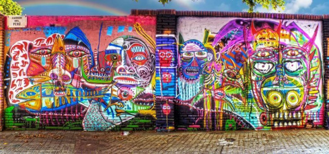 Wallspot - S.Waknine -  - Barcelona - Selva de Mar - Graffity - Legal Walls - Illustration