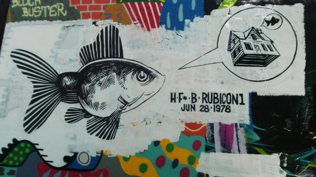 Wallspot - Rubicon1 -  - Barcelona - Selva de Mar - Graffity - Legal Walls -