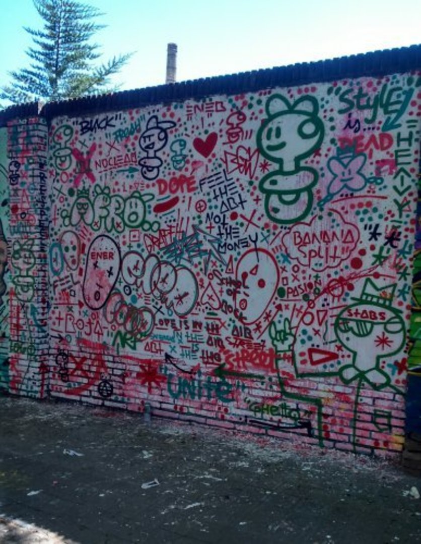 Wallspot - xupet -  - Barcelona - Selva de Mar - Graffity - Legal Walls - , ,