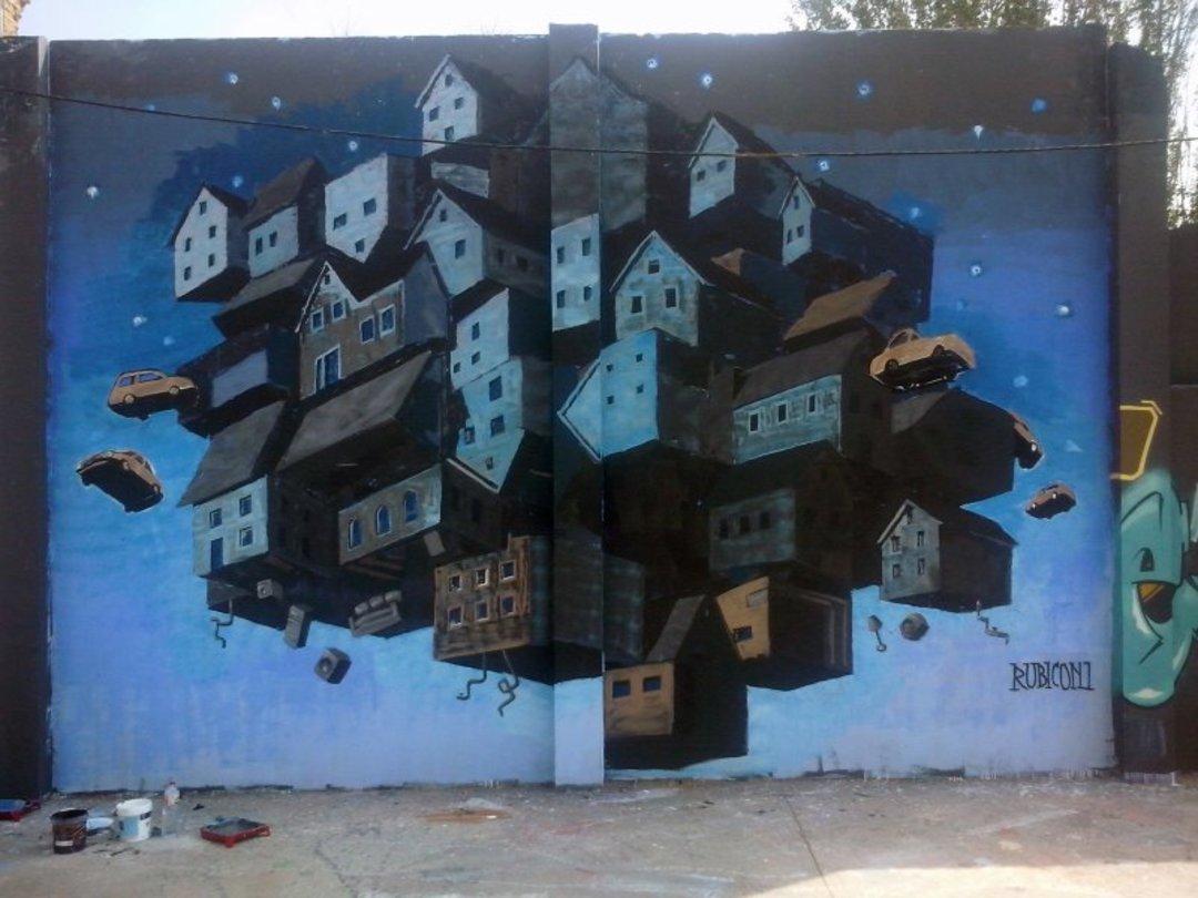 Wallspot - Rubicon1 -  - Barcelona - Agricultura - Graffity - Legal Walls - Illustration