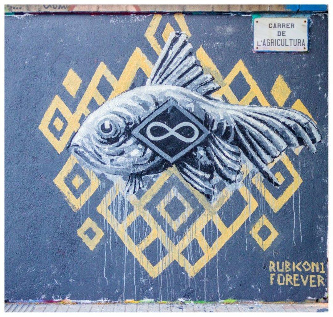 Wallspot - Rubicon1 -  - Barcelona - Western Town - Graffity - Legal Walls - Illustration