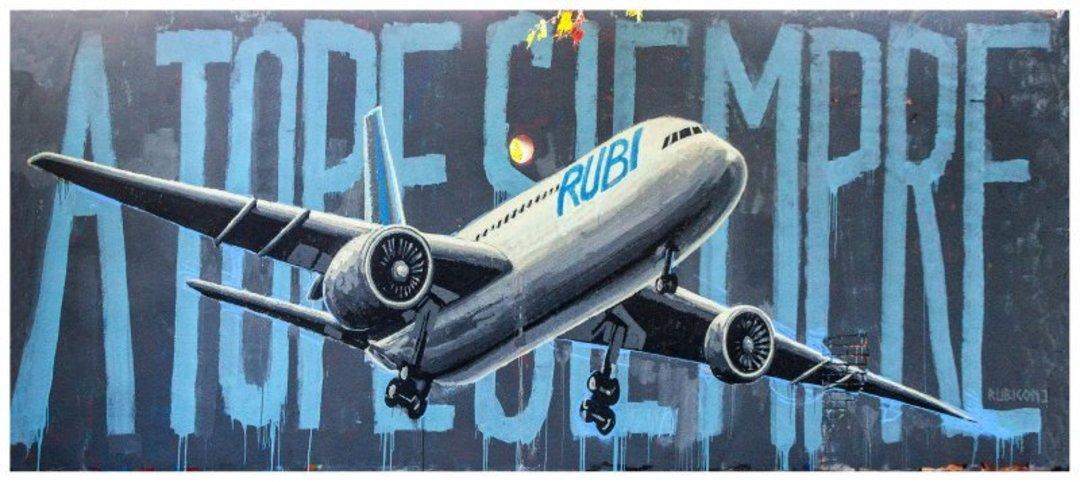 Wallspot - Rubicon1 -  - Barcelona - Selva de Mar - Graffity - Legal Walls - Illustration