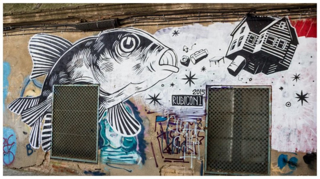 Wallspot - Rubicon1 -  - Barcelona - Agricultura - Graffity - Legal Walls - Letters, Illustration