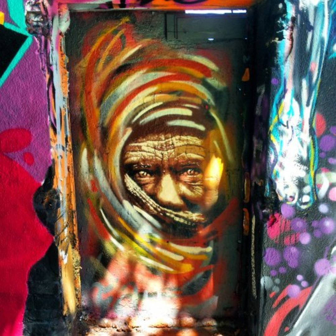 Wallspot - FAU -  - Barcelona - Western Town - Graffity - Legal Walls - Stencil