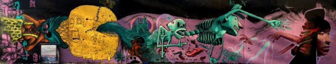 Wallspot - El Rughi -  - Barcelona - Tres Xemeneies - Graffity - Legal Walls - Il·lustració