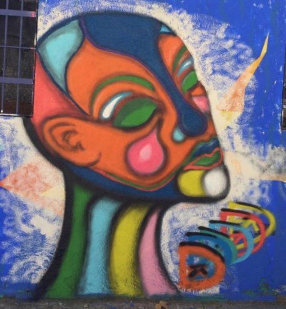 Wallspot - DALA @daliladuartedrd -  - Barcelona - Western Town - Graffity - Legal Walls - Il·lustració