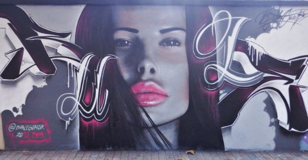 Wallspot - Bublegum -  - Barcelona - Agricultura - Graffity - Legal Walls - ,
