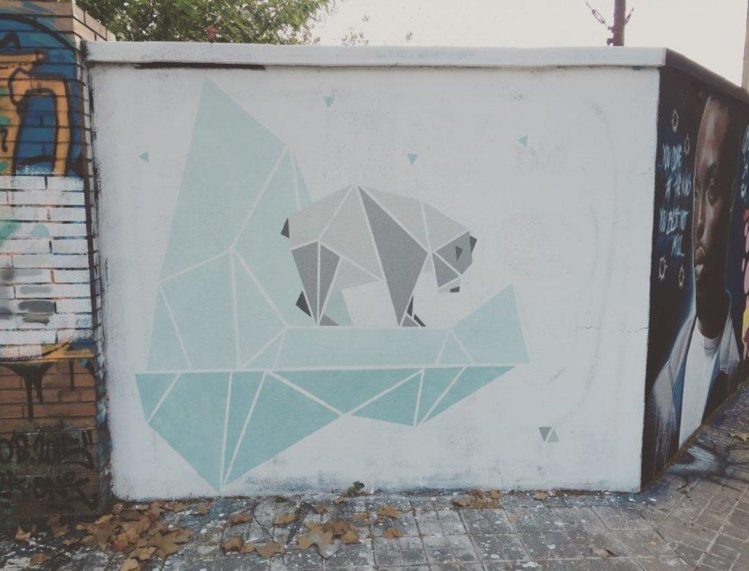 Wallspot - nuriatoll -  - Barcelona - Agricultura - Graffity - Legal Walls - Illustration