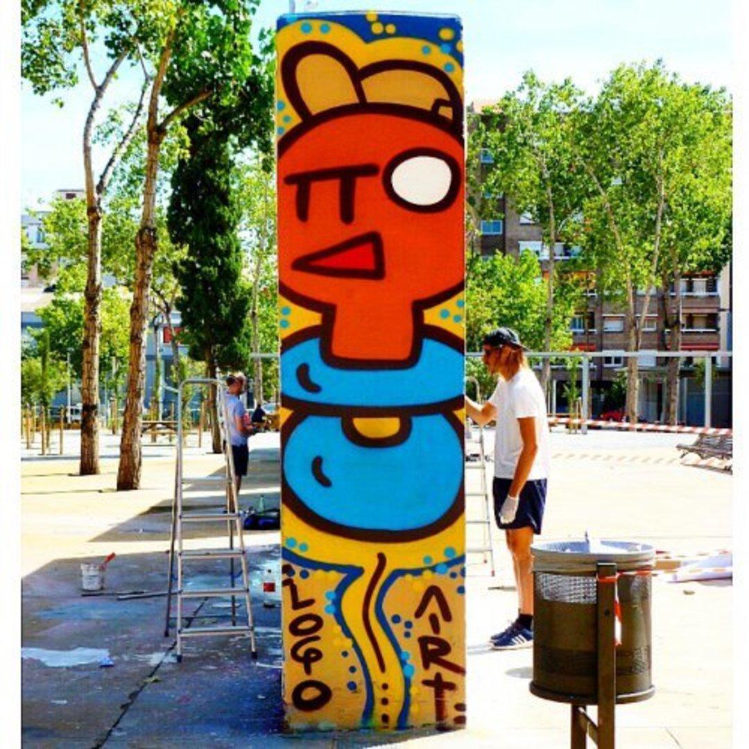Wallspot - xupet -  - Barcelona - Selva de Mar - Graffity - Legal Walls - Lletres, Il·lustració, Altres
