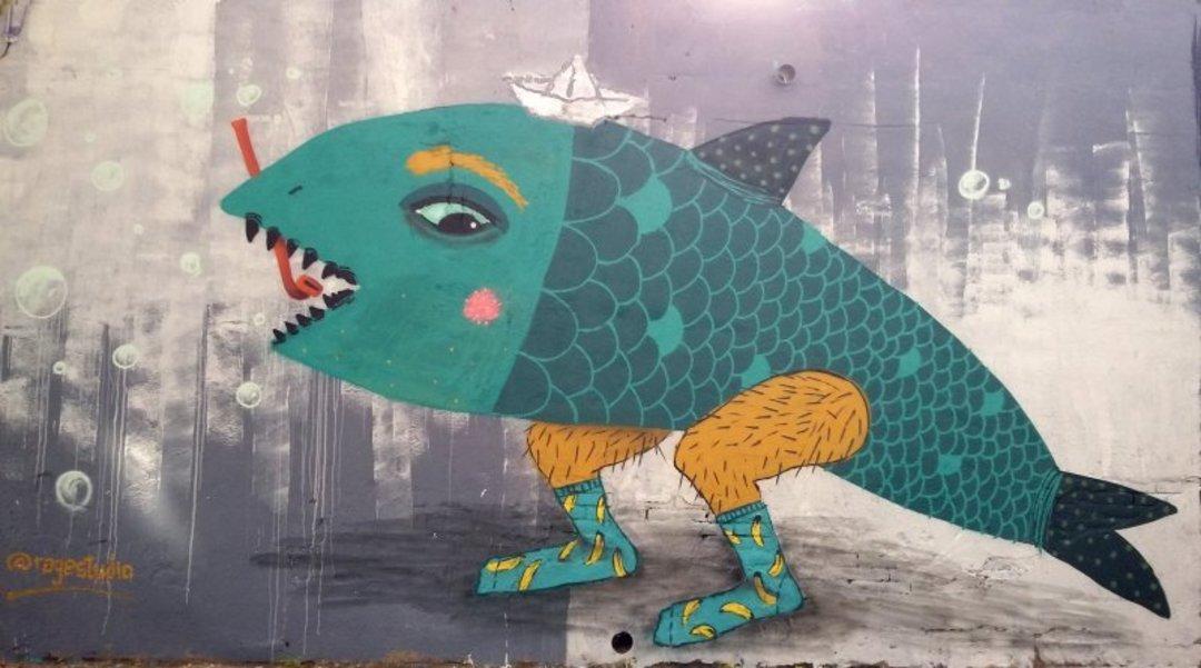 Wallspot - Ragestudio -  - Barcelona - Selva de Mar - Graffity - Legal Walls - Illustration