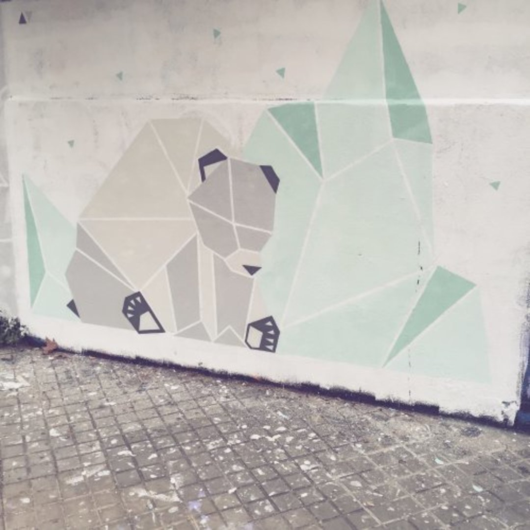 Wallspot - nuriatoll -  - Barcelona - Agricultura - Graffity - Legal Walls - Illustration