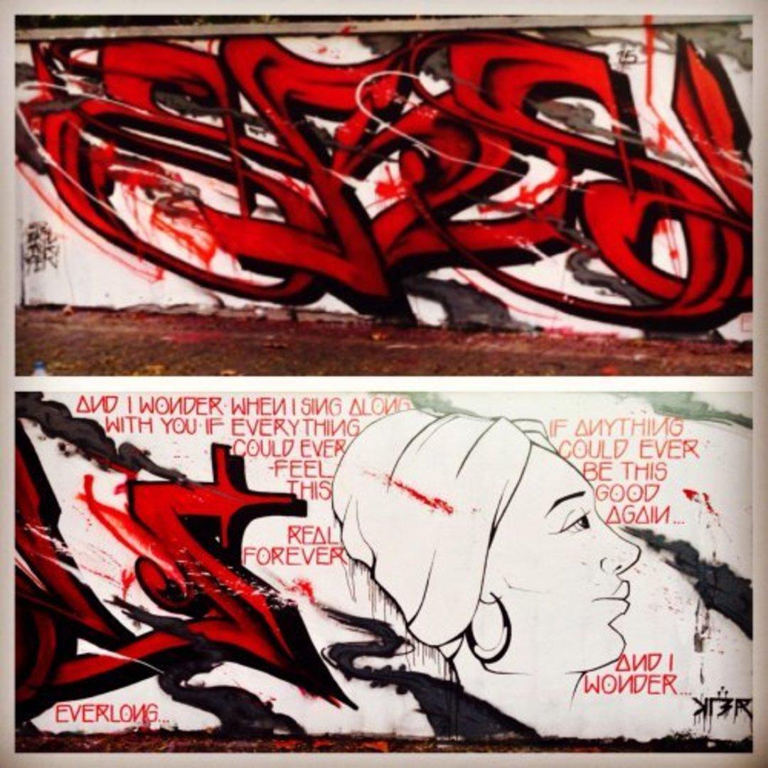 Wallspot - KLER -  - Barcelona - Agricultura - Graffity - Legal Walls - Lletres, Il·lustració, Altres