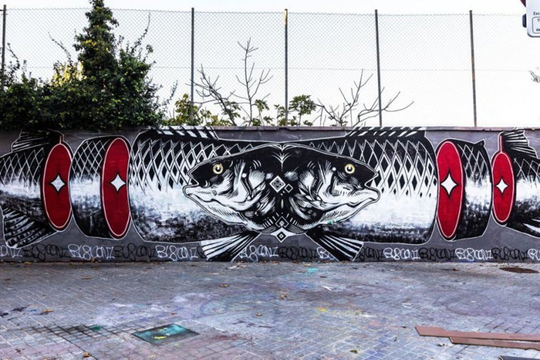 Wallspot - Rubicon1 -  - Barcelona - Selva de Mar - Graffity - Legal Walls - Illustration