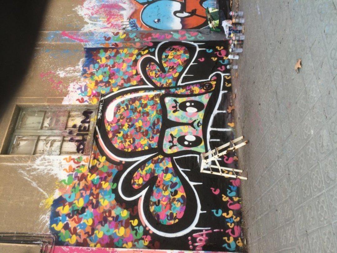 Wallspot - dhemart -  - Barcelona - Agricultura - Graffity - Legal Walls - Il·lustració