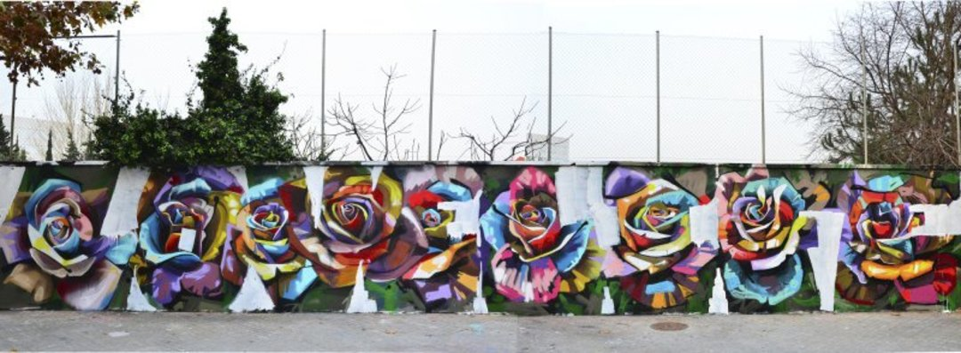 Wallspot - Stefano Phen -  - Barcelona - Selva de Mar - Graffity - Legal Walls - Illustration