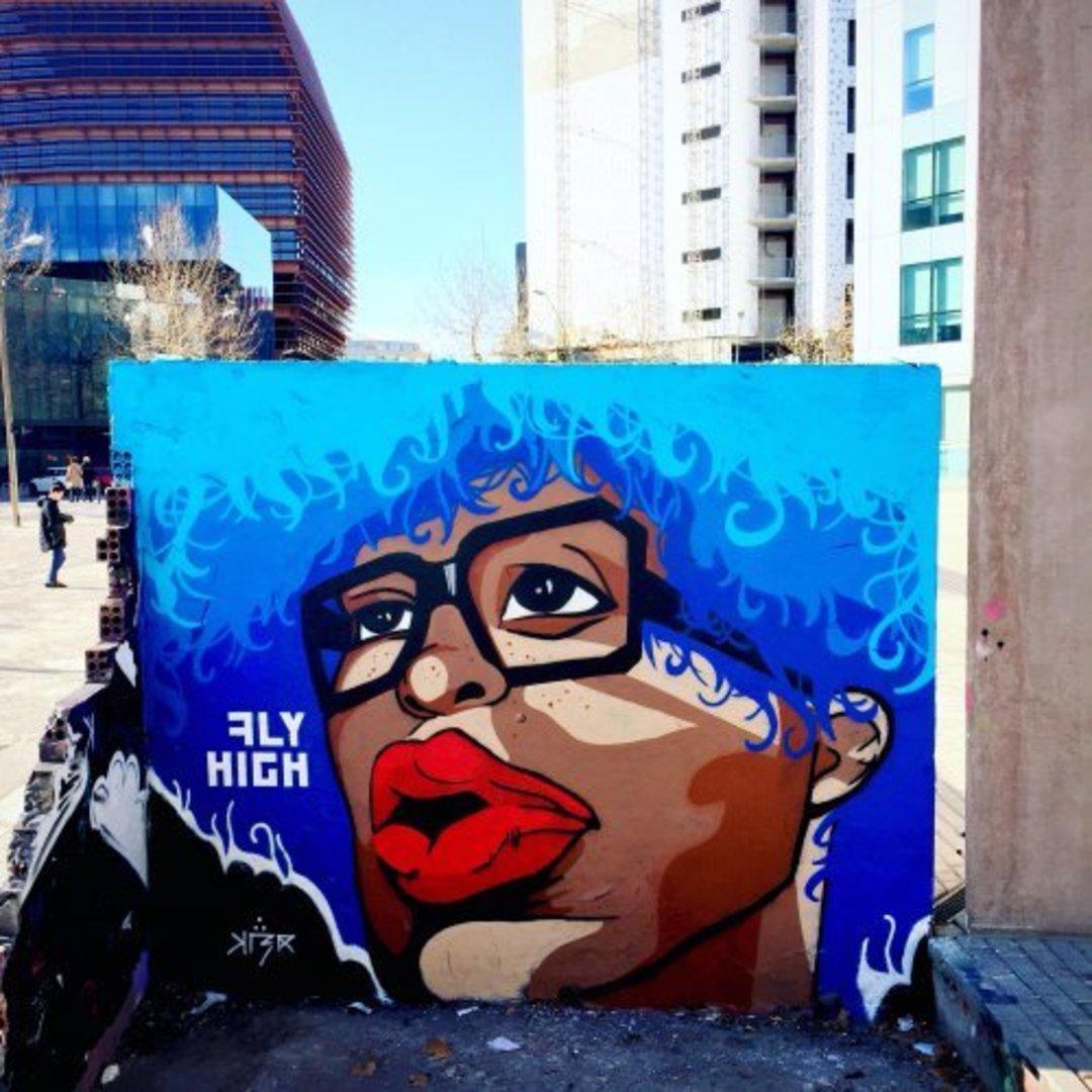 Wallspot - KLER -  - Barcelona - Glòries Wall - Graffity - Legal Walls - Lletres, Il·lustració, Altres